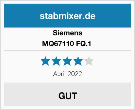 Siemens MQ67110 FQ.1  Test