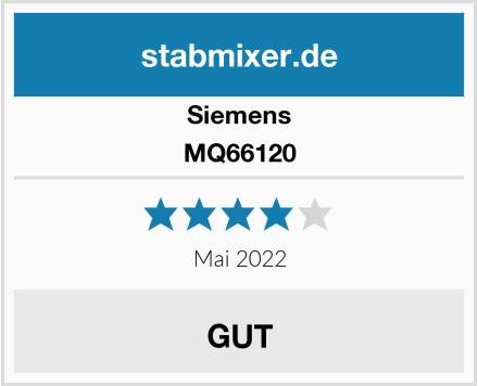 Siemens MQ66120 Test