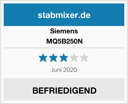 Siemens MQ5B250N Test