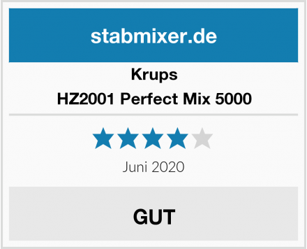 Krups HZ2001 Perfect Mix 5000 Test