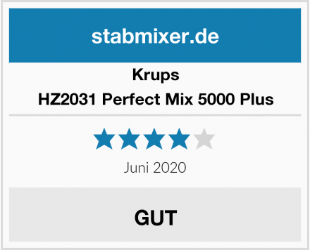 Krups HZ2031 Perfect Mix 5000 Plus Test