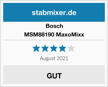 Bosch MSM88190 MaxoMixx Test