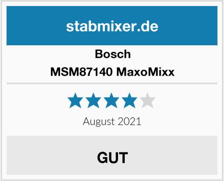 Bosch MSM87140 MaxoMixx Test