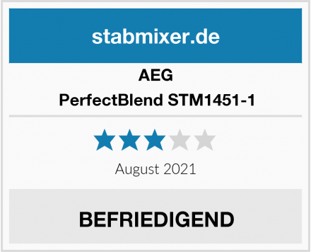 AEG PerfectBlend STM1451-1 Test