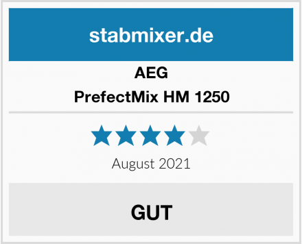 AEG PrefectMix HM 1250 Test