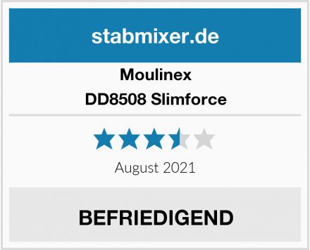 Moulinex DD8508 Slimforce Test
