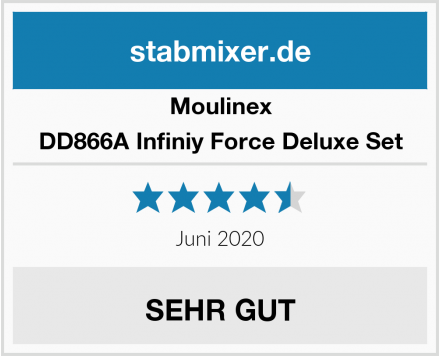 Moulinex DD866A Infiniy Force Deluxe Set Test