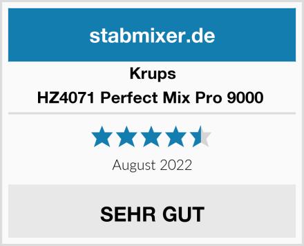 Krups HZ4071 Perfect Mix Pro 9000  Test