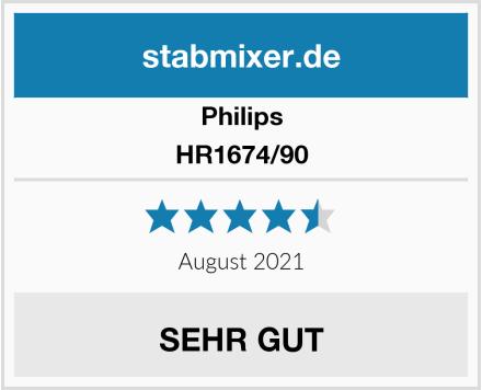 Philips HR1674/90 Test