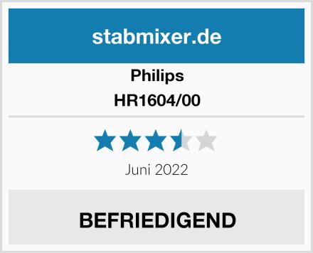 Philips HR1604/00 Test
