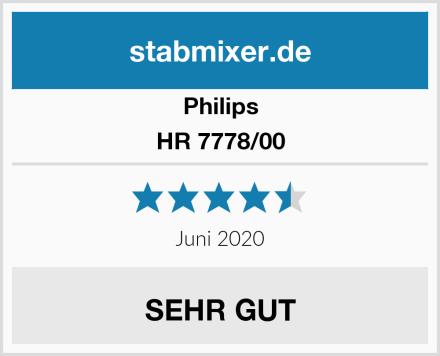 Philips HR 7778/00 Test
