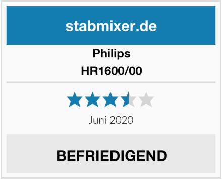 Philips HR1600/00 Test