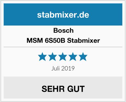 Bosch MSM 6S50B Stabmixer Test