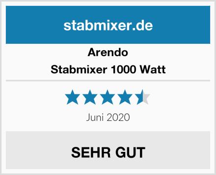 Arendo Stabmixer 1000 Watt Test