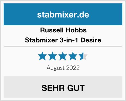 Russell Hobbs Stabmixer 3-in-1 Desire Test