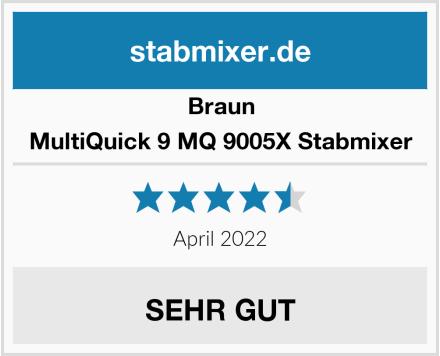 Braun MultiQuick 9 MQ 9005X Stabmixer Test