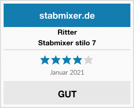 Ritter Stabmixer stilo 7 Test