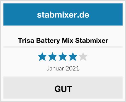 Trisa Battery Mix Stabmixer Test