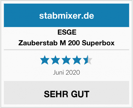 ESGE Zauberstab M 200 Superbox Test