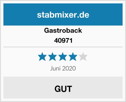 Gastroback 40971 Test