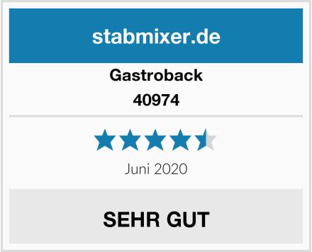 Gastroback 40974 Test