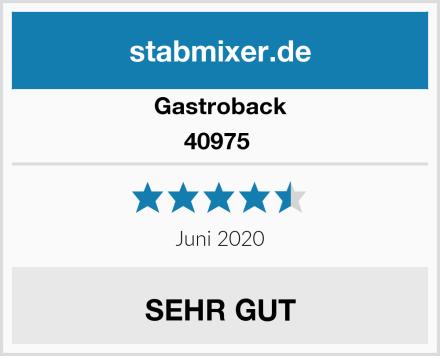 Gastroback 40975  Test
