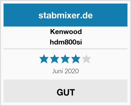 Kenwood hdm800si Test