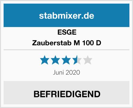 ESGE Zauberstab M 100 D Test