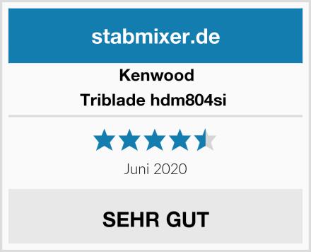 Kenwood Triblade hdm804si  Test