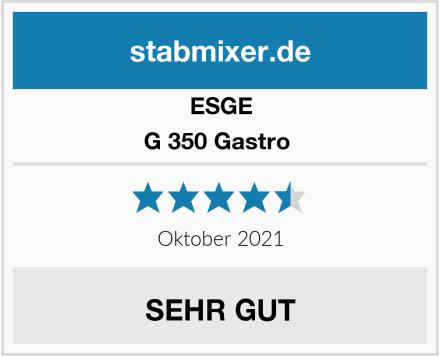 ESGE G 350 Gastro  Test