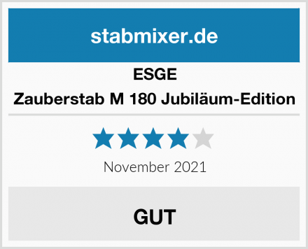 ESGE Zauberstab M 180 Jubiläum-Edition Test