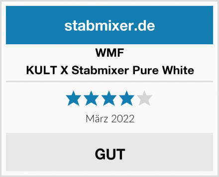WMF KULT X Stabmixer Pure White Test