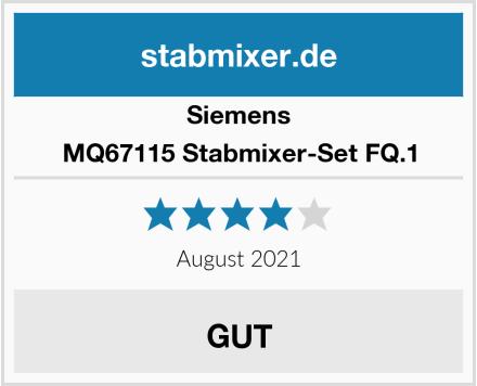 Siemens MQ67115 Stabmixer-Set FQ.1 Test
